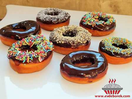 Çikolata Soslu Donut