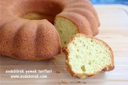 Antep Fıstıklı Pudingli Kek Tarifi