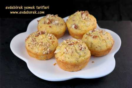 Bademli Cupcake Tarifi