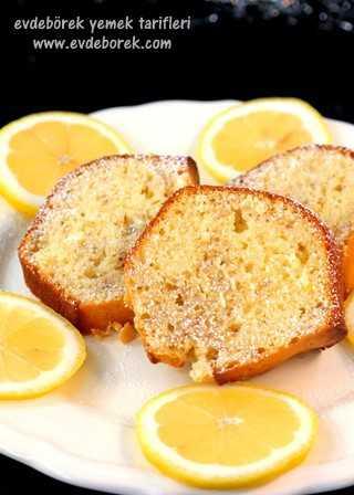 Cevizli Limonlu Kek Tarifi6