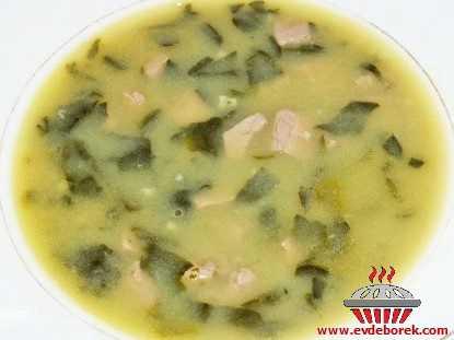 Ciğerli Ispanak Çorbası