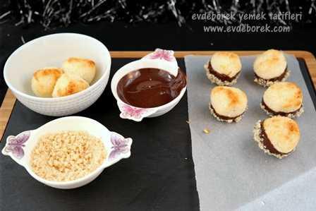 Çikolatalı Hindistan Cevizi Topları Tarifi5