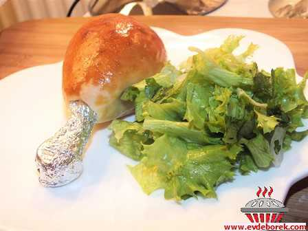 Hamur Sargılı Tavuk