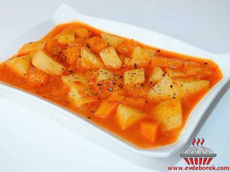 Havuçlu Patates Yemeği