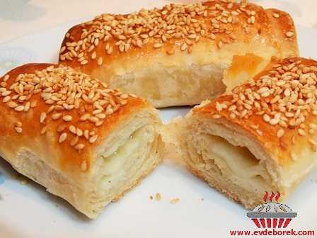 Hellim Peynirli Katmer Böreği