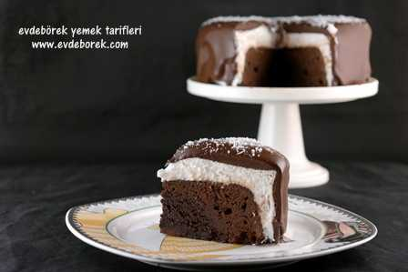 Hindistan Cevizli Brownie Pasta Tarifi