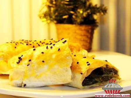 Ispanaklı Börek (Yufka İle)