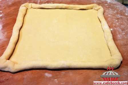 Ispanaklı Katmer Böreği