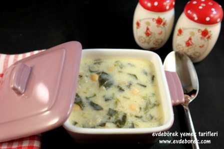 Ispanaklı Yoğurt Çorbası Tarifi