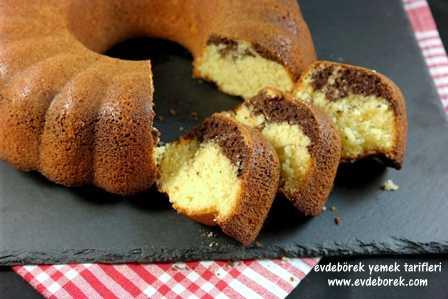 Kakaolu Portakallı Kek Tarifi