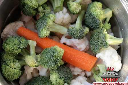 Karnabahar Brokoli Köftesi