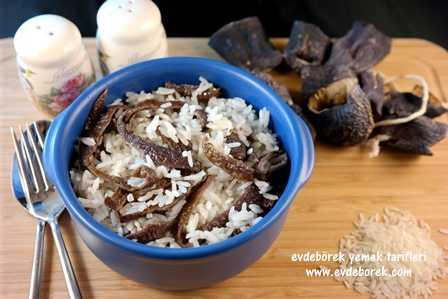 Kuru Patlıcanlı Yasemin Pilavı Tarifi