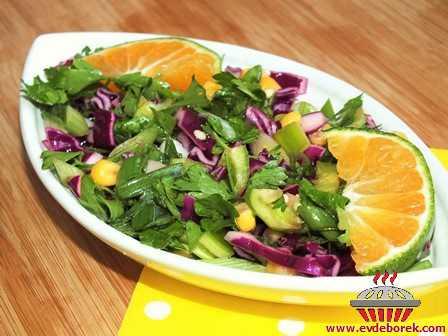 Mandalinalı Salata