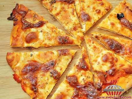 Margarita Pizza (Peynirli Pizza)