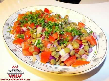 Mercimek Salatası Tarifi