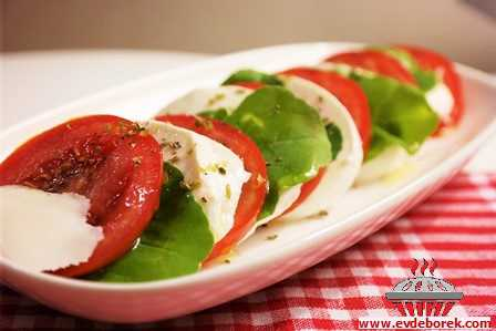 Mozzarella Tabağı