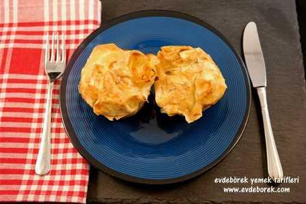 Muffin Kalıbında Patatesli Börek Tarifi