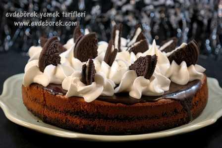 Oreolu Cheesecake Tarifi3