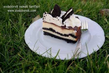 Oreolu Cheesecake Tarifi7