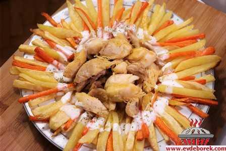 Patatesli Havuçlu Tavuk tarifi