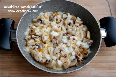 Peynirli Mantar Tarifi