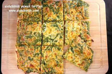 Pratik Ispanaklı Pizza Tarifi