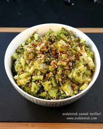 Siyez Bulgurlu Brokoli Salatası Tarifi2