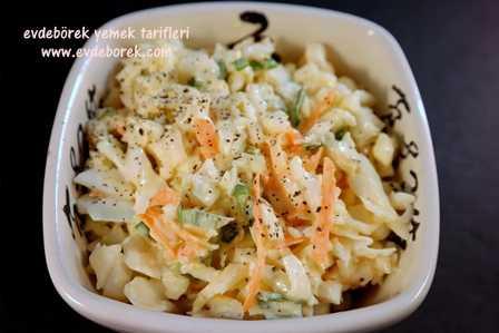 Soslu Lahana Salatası Tarifi
