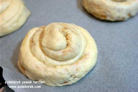 Tahin Pekmezli Çörek Tarifi