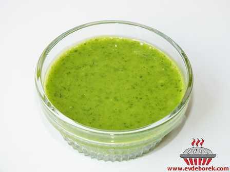 Yeşil Sos (Maydanozlu)