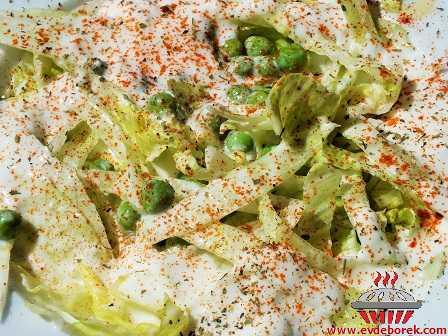 Yoğurtlu Göbek Salata